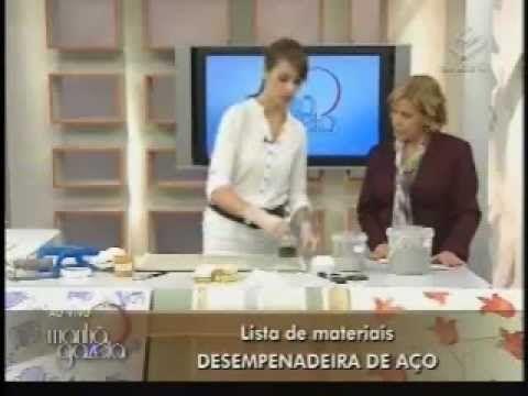 Textura - Efeito Margaridas Programa TV Gazeta By Ângela Ferraz -  Desig...
