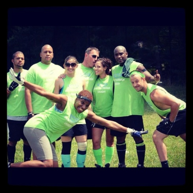 Spring 2012 MoCo Social Sports Coed Football Division Champs!! : )