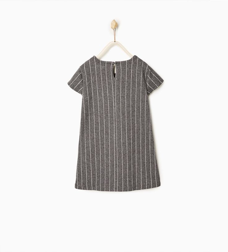 Knit pinstripe dress-DRESSES AND JUMPSUITS-GIRL | 4-14 years-KIDS | ZARA Indonesia