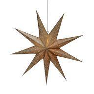 Adventsstjärna, Ø60 cm, guld