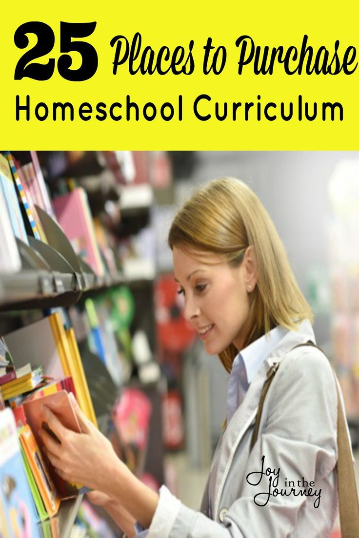 Homeschool curriculum shopping season is here! If you are wondering where to purchase homeschool curriculum this post is for you. Here are 25 places to purchase homeschool curriculum.