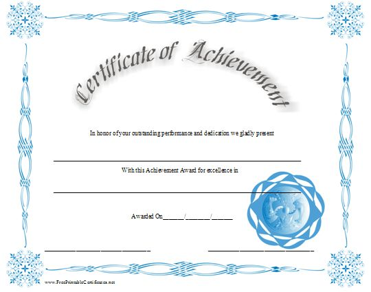 206 best Certificate Design images on Pinterest Certificate - certificate of achievement sample