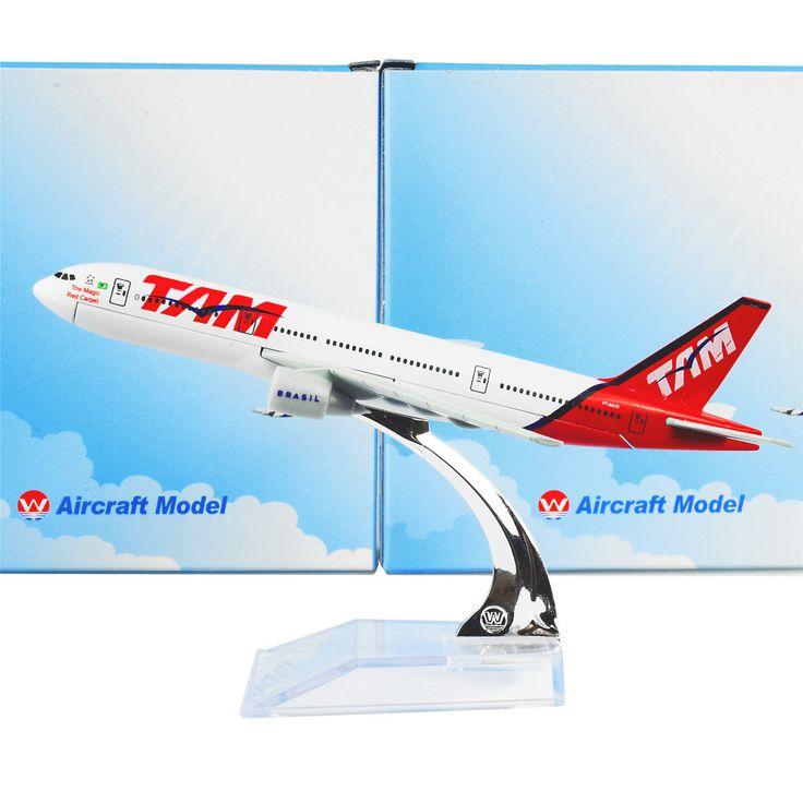 Brazil TAM Airlines BOEING B777 Airplane Model (1:400)