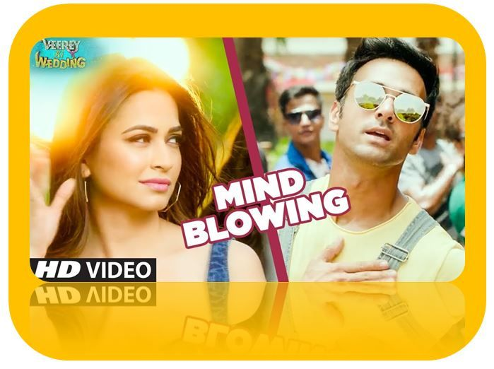 Mind Blowing Lyrics from Veerey Ki Wedding: The first song from Veerey Ki Wedding starring Pulkit Samrat, Kriti Kharbanda is sung by Mika Singh. It's music composed by Farzan Faaiz while lyrics penned by Deepak Noor & Chandan Bakshi.