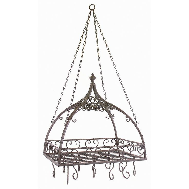 Imax Worldwide 7784 Domed Pot Rack with Hooks