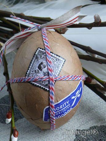 Luchtpost ei - Paas eieren versieren