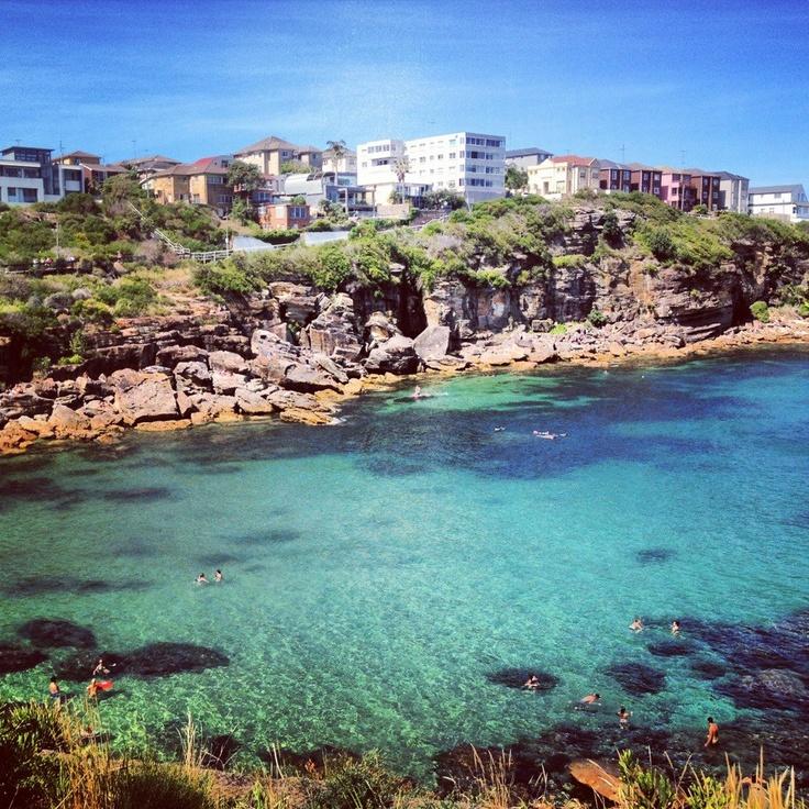 Gordons Bay, Sydney, Australia. Loved sitting here on a hot day