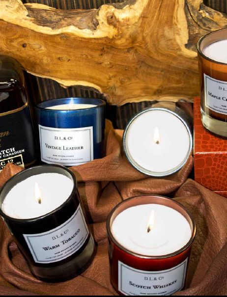 Men's Candles | DL & CO | Goetz, Inc. World Trade Center | WTC 211