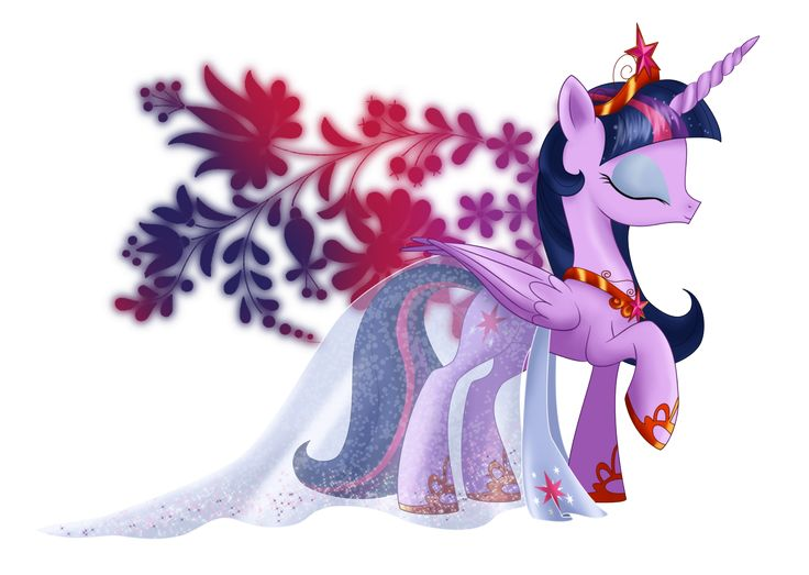 Princess of Equestria - Twilight Sparkle by selinmarsou.deviantart.com on @deviantART