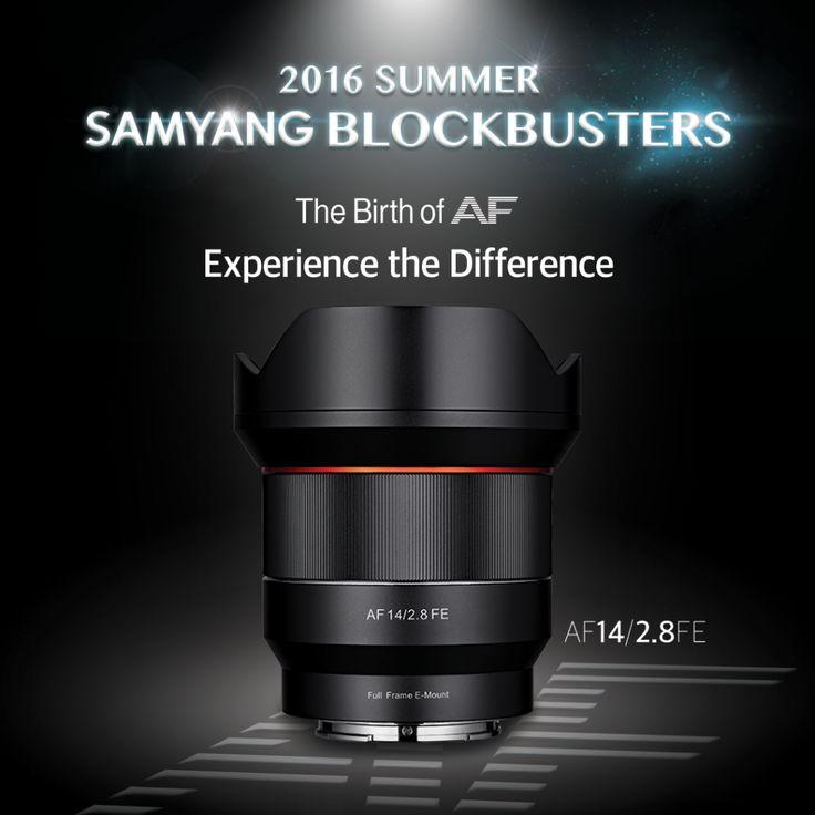 """Samyang's Summer 2016 """"Blockbuster Season"""" Ends with New 14mm f2.8 AF Full-Frame Lens"""