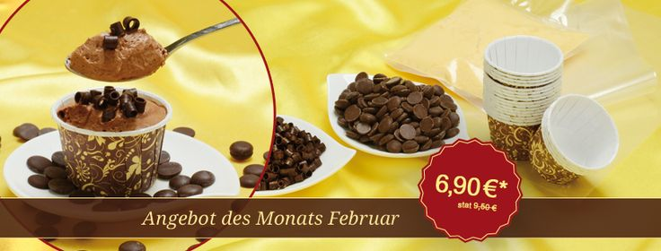 Angebot des Monats Februar  Der Klassiker unter den Desserts: Mousse au chocolat.  Einmaliges Set zum Spitzenpreis - Jetzt bestellen!  #pativersand #schokolade #angebotdesmonats  http://www.pati-versand.de/dessert-und-eis/set-angebote/angebot-des-monats-februar?c=249