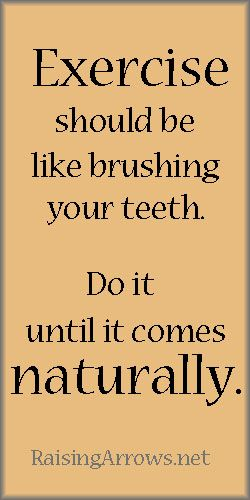 Absolutely! I love it when your body craves it and it's part of the daily routine, like brushing your teeth.