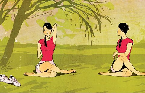 Yoga kan vara bra träning mot löparknä | Runner's World