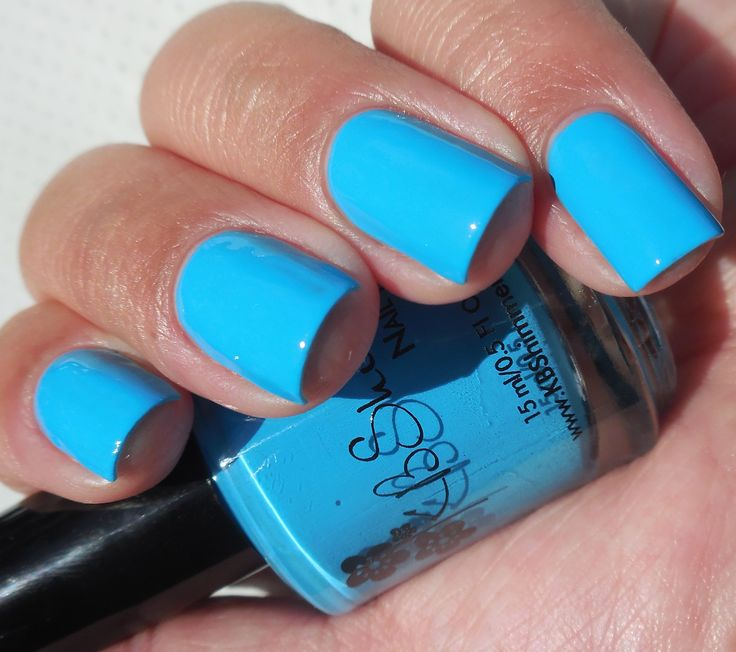 Neon Blue Nail Polish: The 25+ Best Neon Blue Nails Ideas On Pinterest
