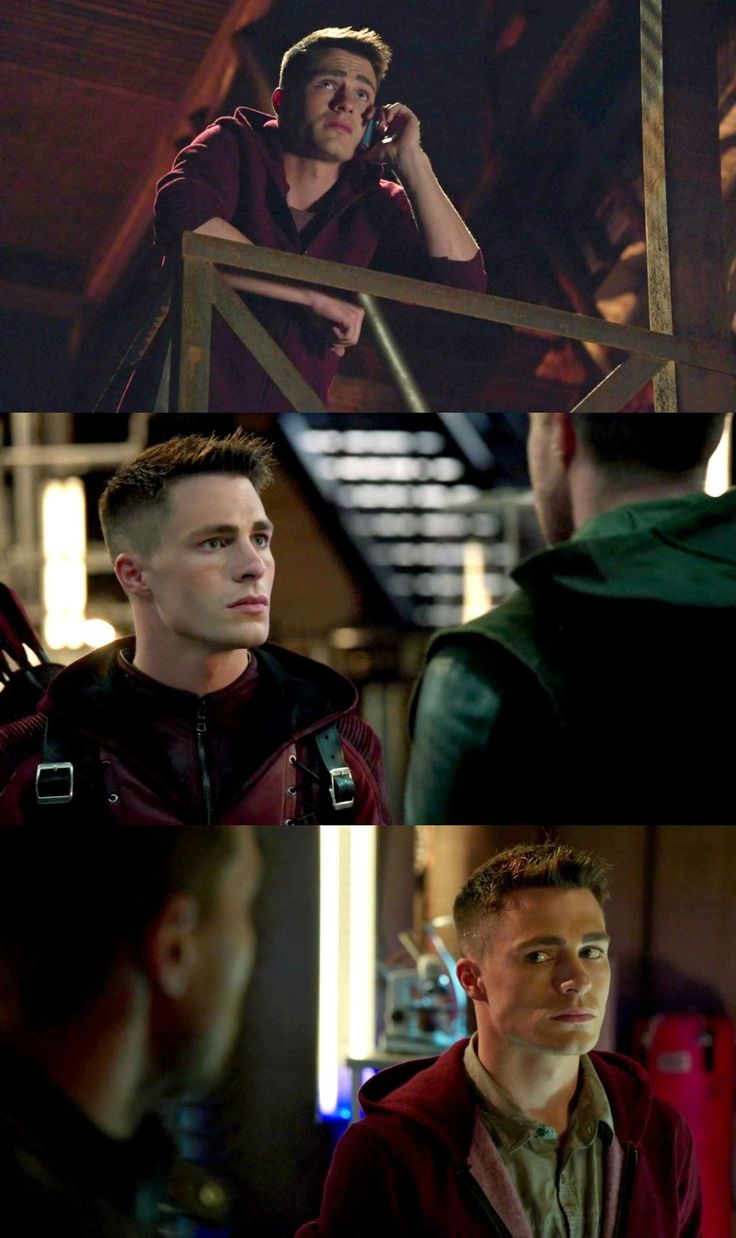 Arrow  - Roy Harper - Arsenal, best reaction shots in the business, like they seriously could have just hired Colton Haynes to stand in the back of every scene and silently react to what was happening and he would be an engaging character