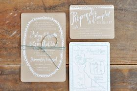 The Peak of Tres Chic: Wedding Paper Obsessions