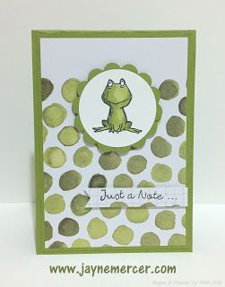 www.jaynemercer.com Quick card using the Hello Lovely Project Life cards and the Love You Lots hostess set.