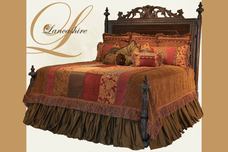 Main view of Lancashire Luxury Bedset from Reilly-Chance Collection - Find yours at Carter's Furniture    Midland, Texas  432-382-2843