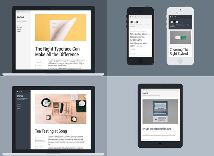 20 free wordpress themes with a clean layout