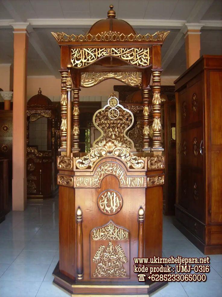Pin di Toko Mimbar Masjid Ready Stock