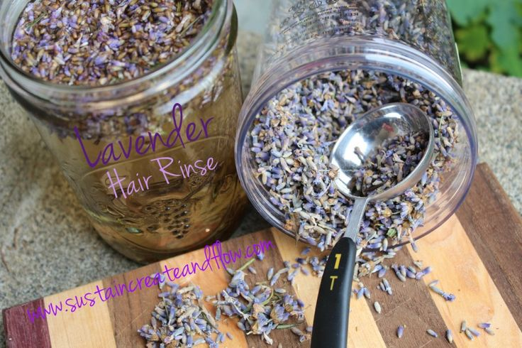 DIY lavender hair rinse : so good for the health of your hair!