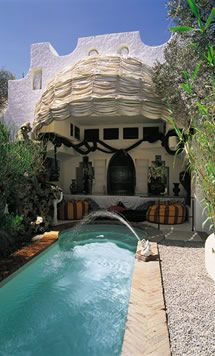 Whenever I need to let the stress go, I pour myself a daiquiri and hang out next to Salvadore Dali's pool