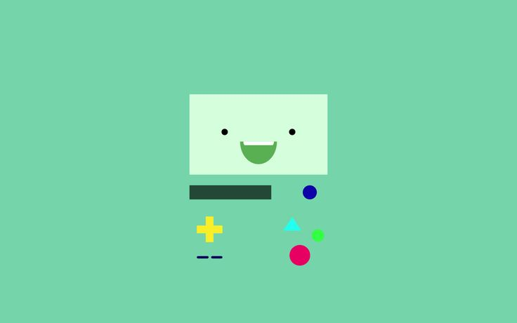 -Made a simple wallpaper of Beemo! It's 1680x1050 so feel free to ask for a re-size if you's want :D Submitted by nuclearastronaut