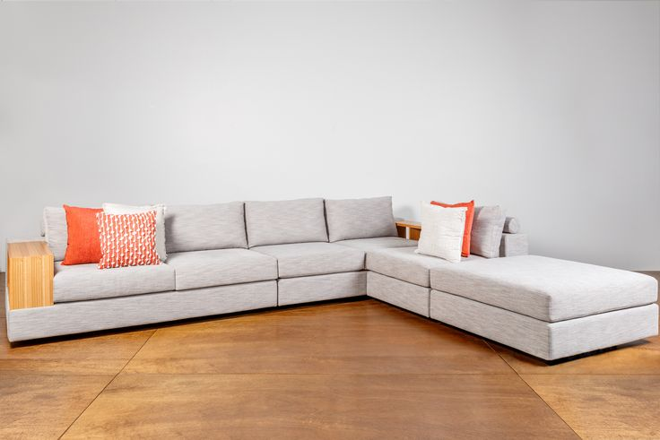 Studio Modular Sofa is our best selling modular. Able to be created into 12 different configurations. Highly customisable features.