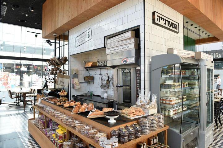 Biga Bakery & Café by Eti Dentes Interior Design, Kfar Saba – Israel » Retail Design Blog