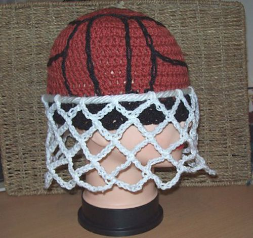 Oh, my!    Ravelry: It's A Goal! Netball Hat. pattern by Cathy Wood