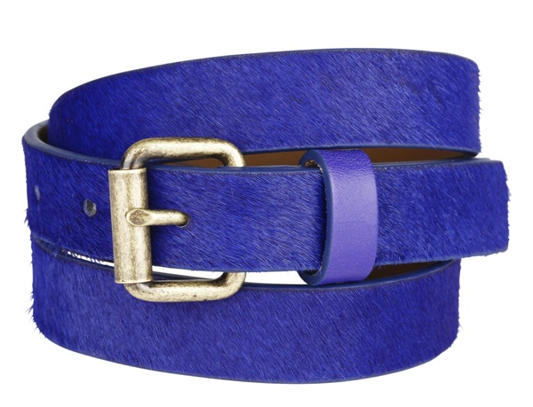 Blue leather belt #GapLove