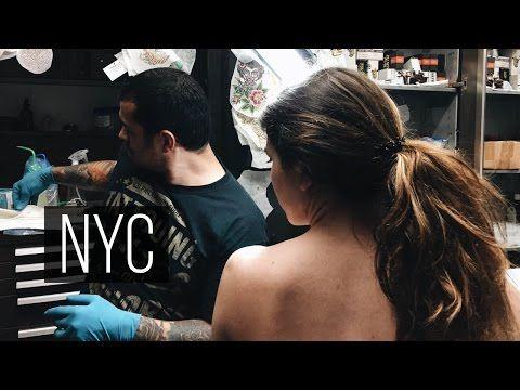 Общежитие в НЙ, Первая Татуировка | Влог Обыкновенный - YouTube