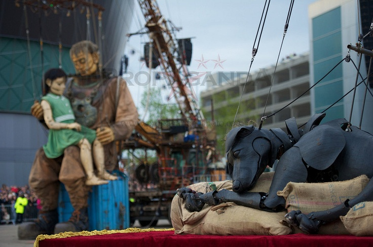 Brilliant picture from Sea Odyssey in Liverpool yesterday