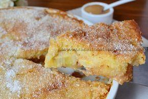 Torta de banana com doce de leite | Receitas e Temperos