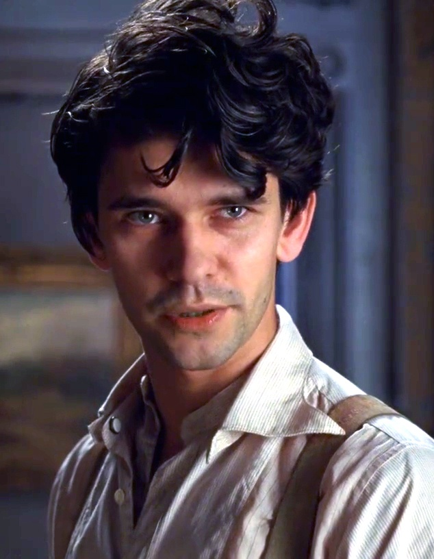 "Ben Whishaw portrays the character of Robert Frobisher in the movie ""Cloud Atlas""......"