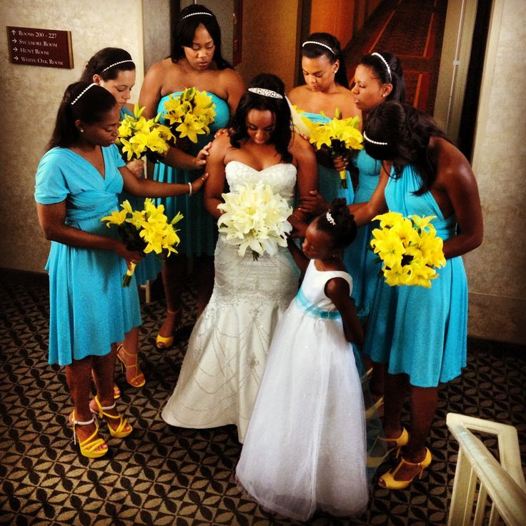 yellow dress to a edding prayer