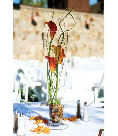 175 Best Centerpiece Trumpet Vase Images On Pinterest Wedding Decor Pipes And Table Centers