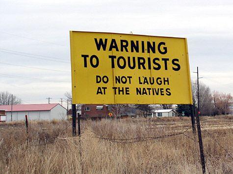 Idaho Falls, Idaho. Yes this sign really does exists!  Haha ummmm yep I love Idaho :)