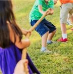 This spring and summer, host the best outdoor party for your kids with these 25 awesome outdoor party games for kids of all ages!