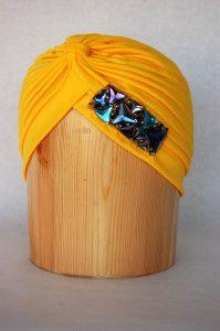 Turbante amarillo