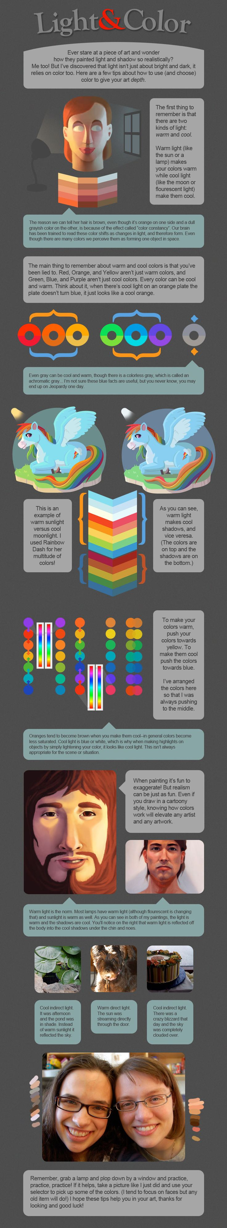 Color art facebook - Light And Color Tutorial Character Design References Https Www