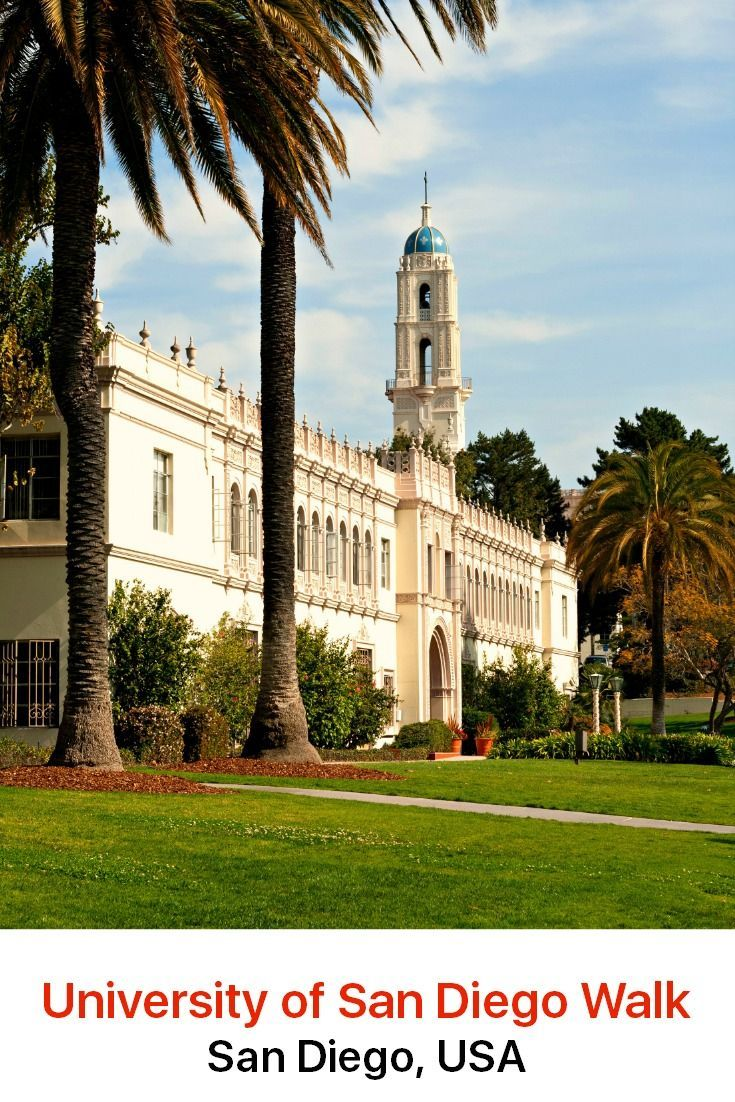 A sightseeing tour of the University of San Diego campus is one of the most rewarding cultural activities in the city. This 16th-century private Roman Catholic university has been named as one of the most beautiful college campuses in the United States.