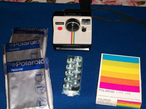 "Poloroid ""One Step"" Land Camera Film 