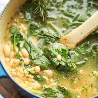 http://damndelicious.net/2015/01/26/spinach-white-bean-soup/