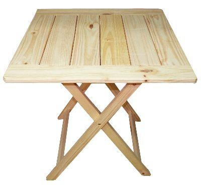 Mejores 55 im genes de mesas en pinterest mesas - Mesa plegable madera ...
