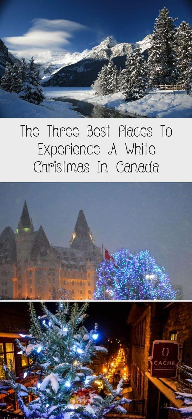 Die drei besten Orte, um ein weißes Weihnachtsfest in