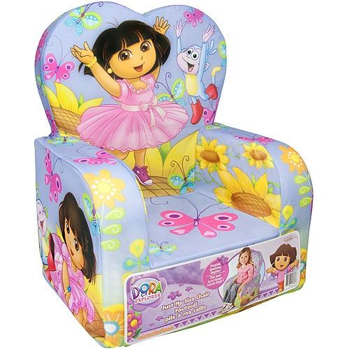 Marshmallow Fun Furniture High Back Chair Dora The