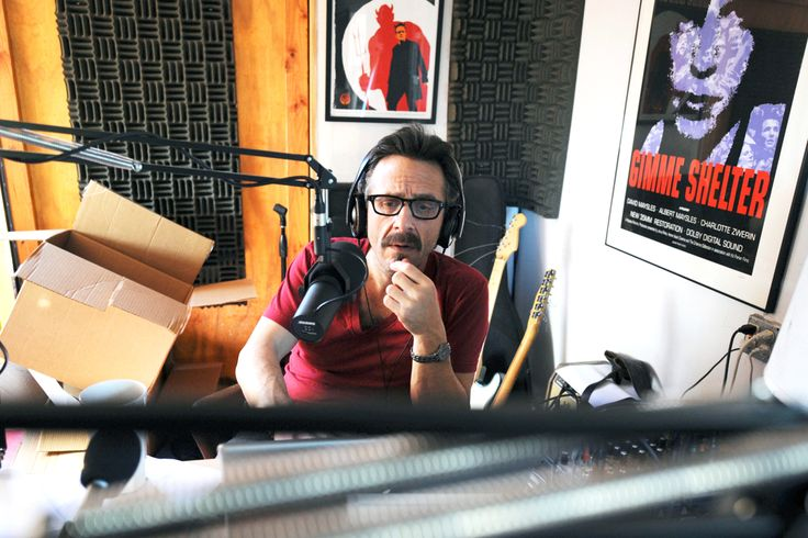 """The success off Maron's """"WTF"""" podcast depends, in large part, on the aura of nostalgia and intimacy of his makeshift home studio."""
