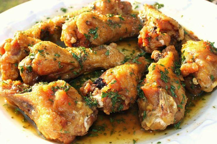 Varomeando: Pollo al ajillo