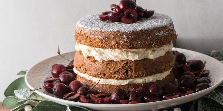 Gingerbread Spice Sponge Cake